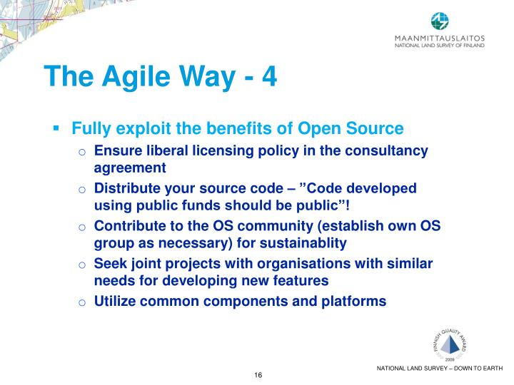 The Agile Way - 4