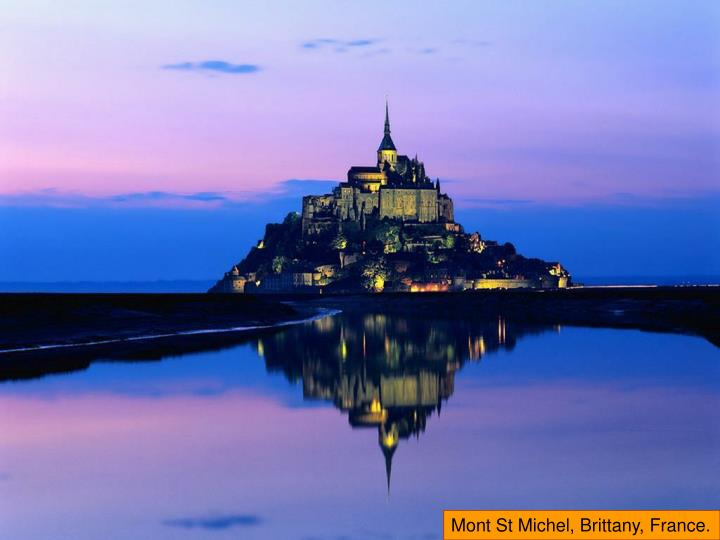 Mont St Michel, Brittany, France.