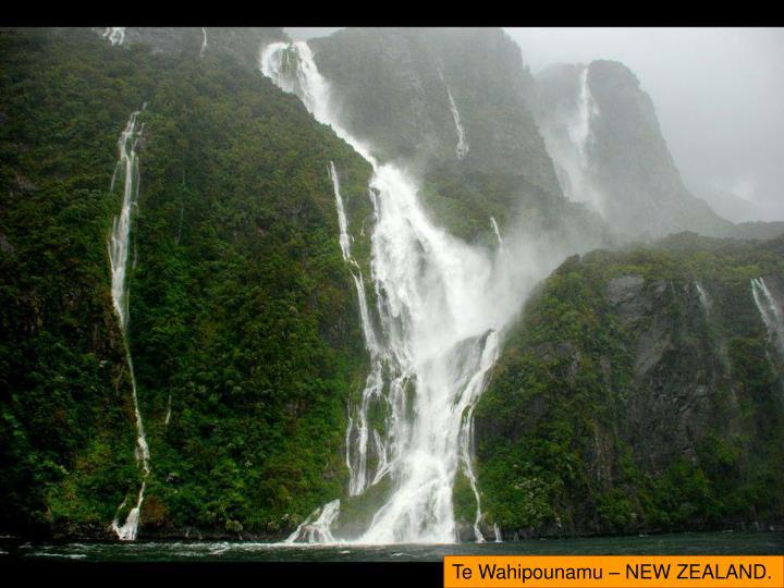 Te Wahipounamu – NEW ZEALAND.