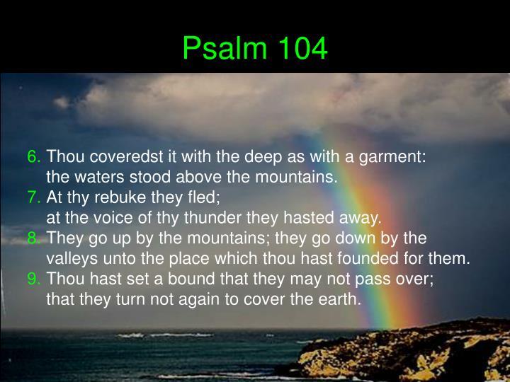 Psalm 104