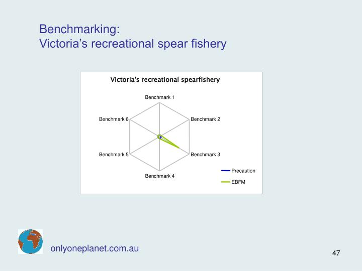 Victoria's recreational spearfishery