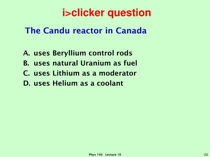 i>clicker question