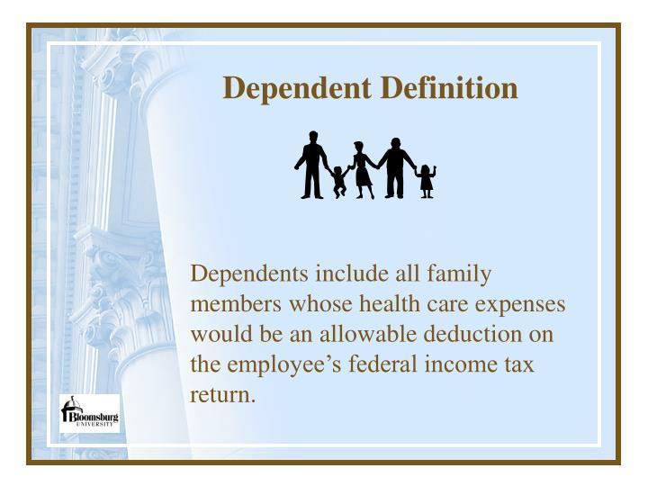 Dependent Definition