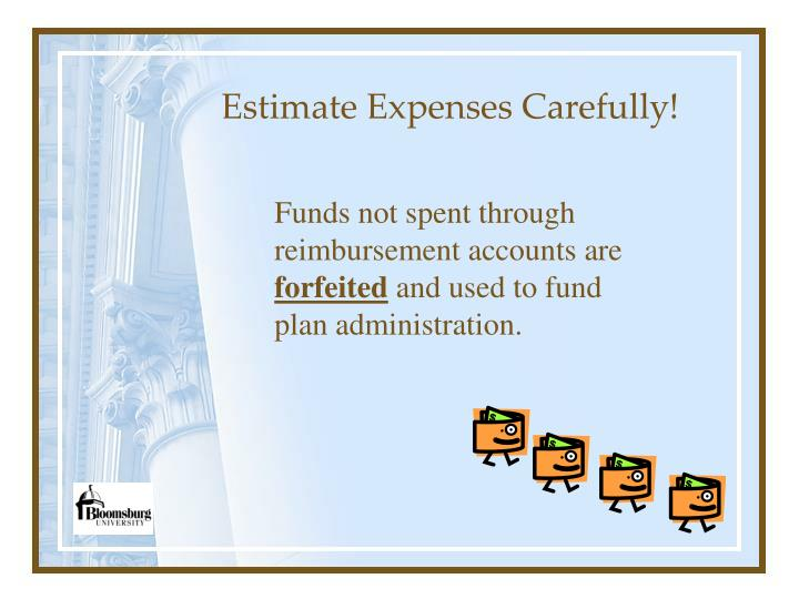 Estimate Expenses Carefully!