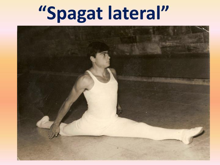 Spagat lateral