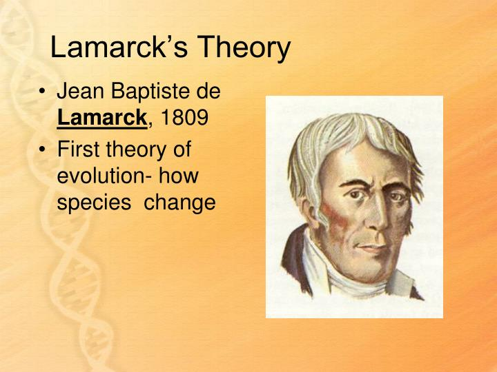 Lamarck's Theory