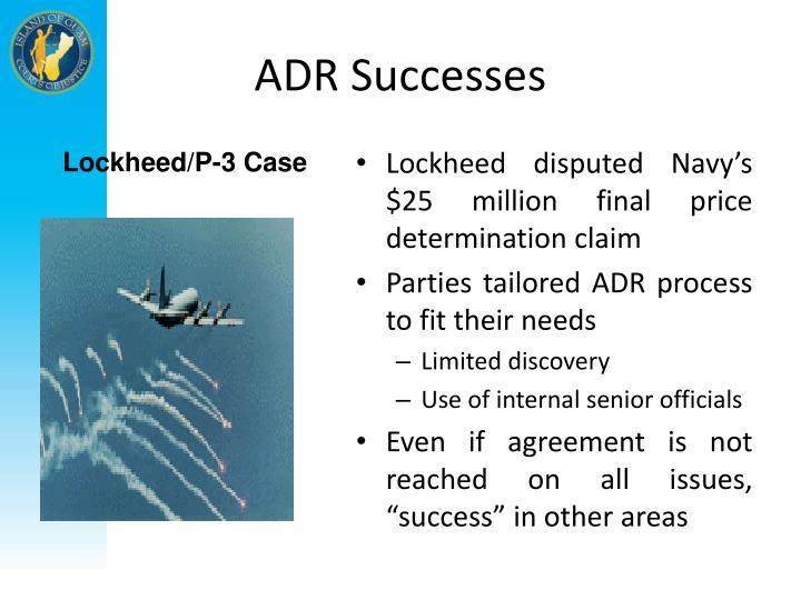 ADR Successes