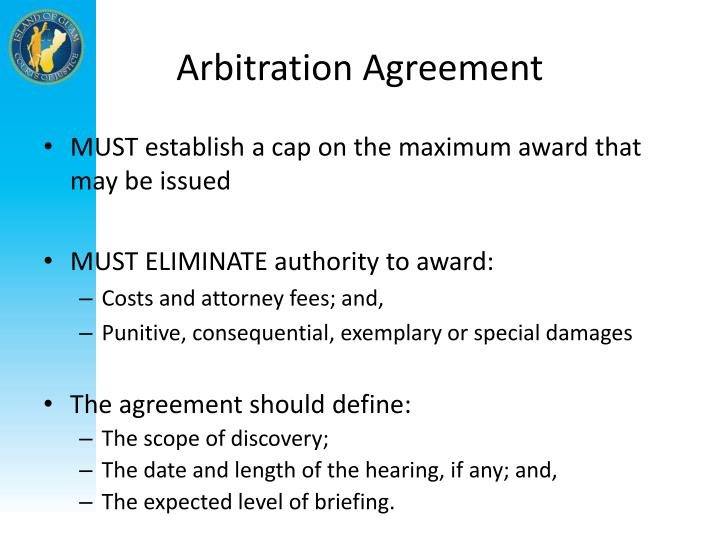 Arbitration Agreement