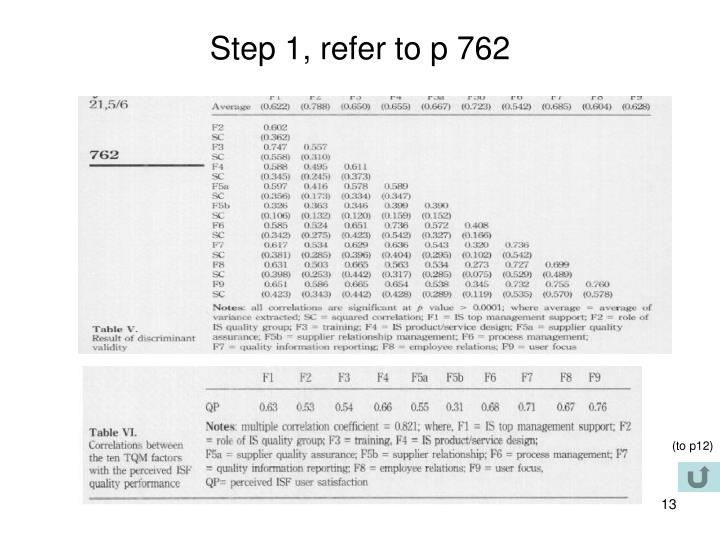 Step 1, refer to p 762