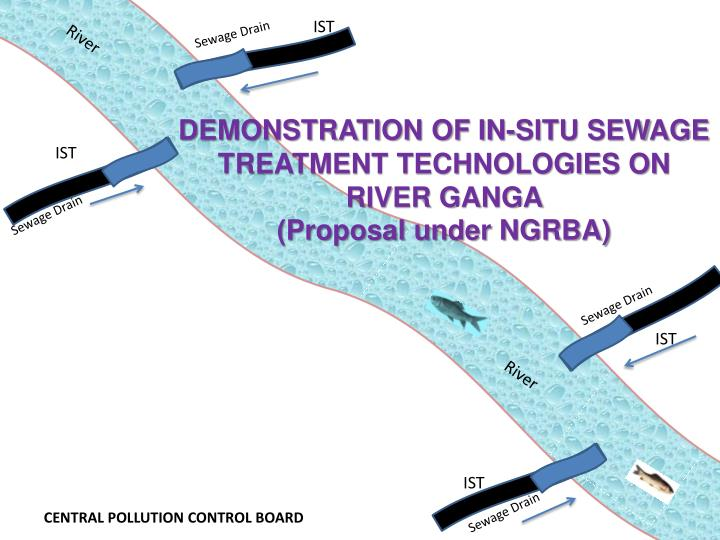 Demonstration of in situ sewage treatment technologies on river ganga proposal under ngrba