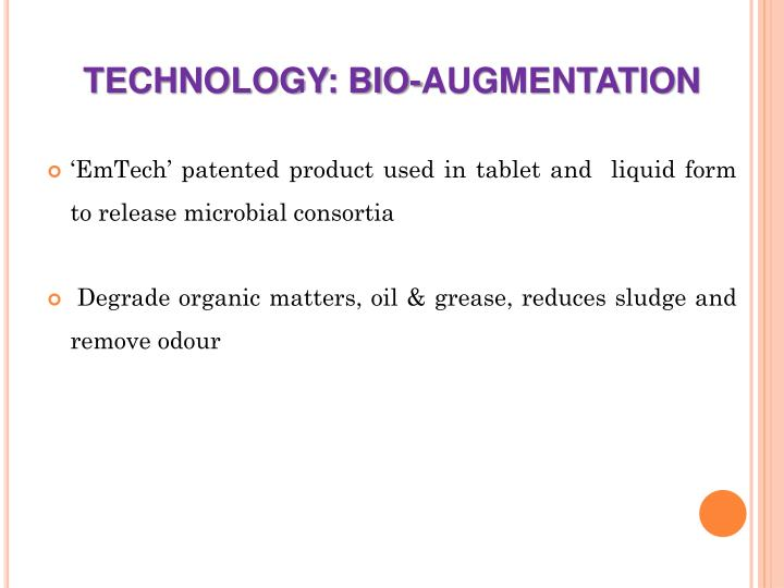 TECHNOLOGY: BIO-AUGMENTATION
