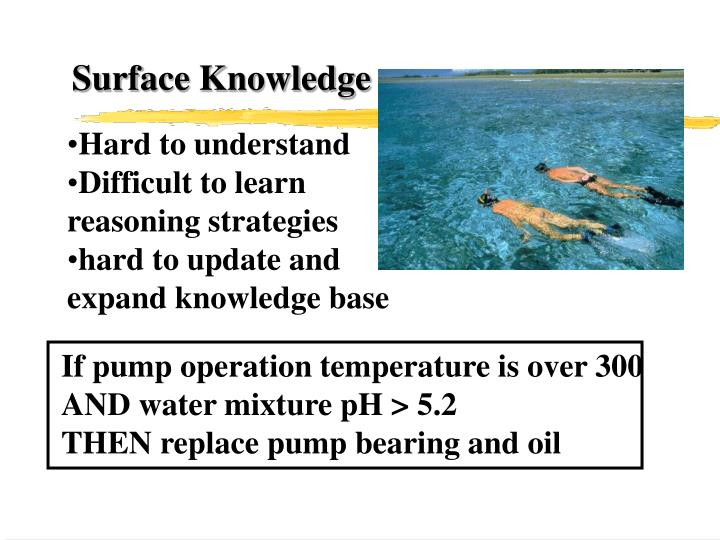 Surface Knowledge