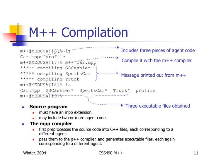 M++ Compilation