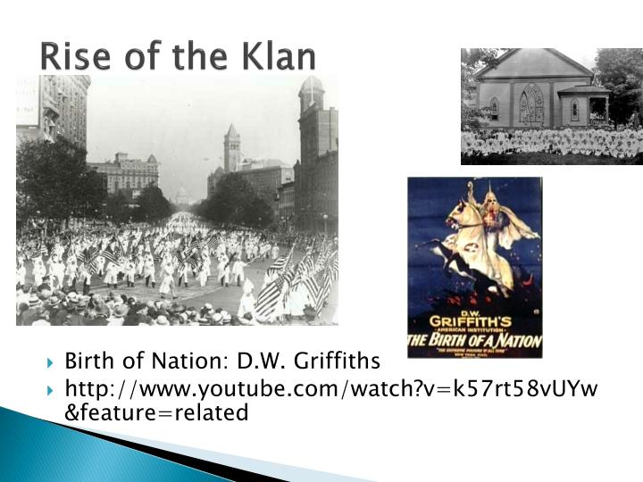 the rise of the kkk [this article by kelly j baker, who currently teaches american and religious studies at the university of tennessee, knoxville, first appeared in the september 2009 issue of the readex report baker is also an editor of the religion in american history blog her first book, gospel according to the klan: the kkk's appeal to protestant america.