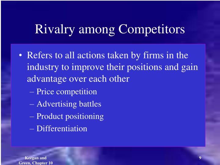 Rivalry among Competitors