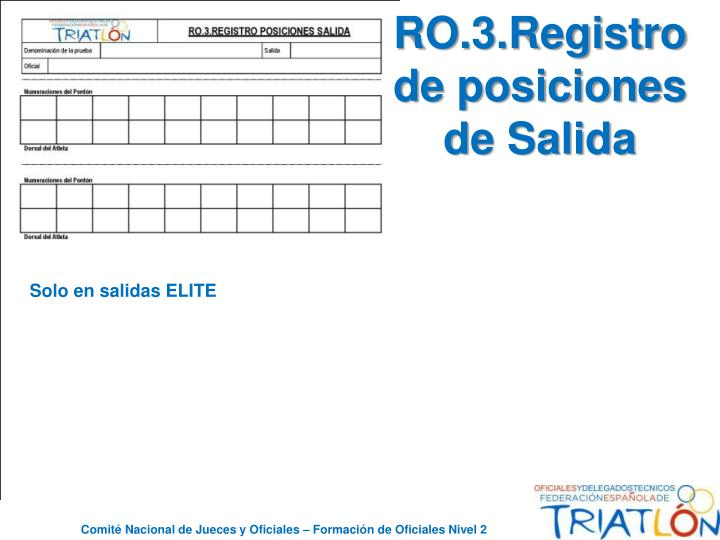 RO.3.Registro de posiciones de Salida