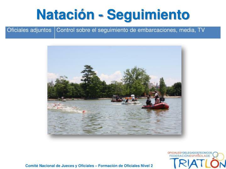 Natación - Seguimiento