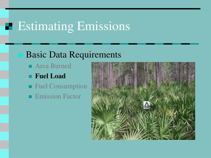Estimating Emissions