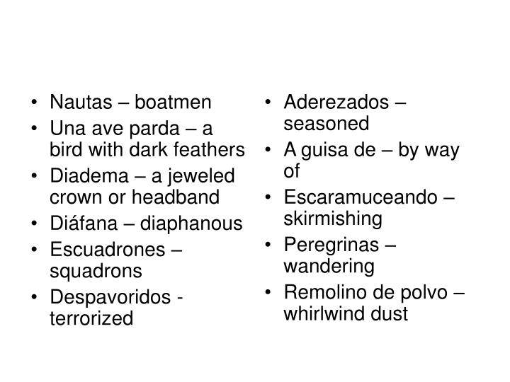 Nautas – boatmen