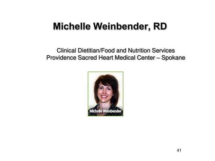 Michelle Weinbender, RD