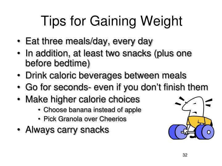 Tips for Gaining Weight