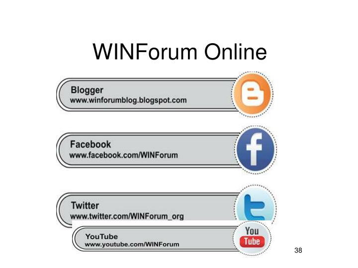 WINForum Online