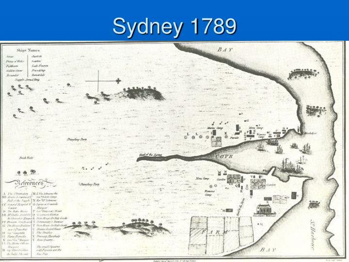 Sydney 1789