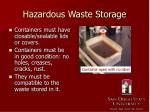 hazardous waste storage1