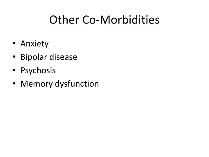 Other Co-Morbidities