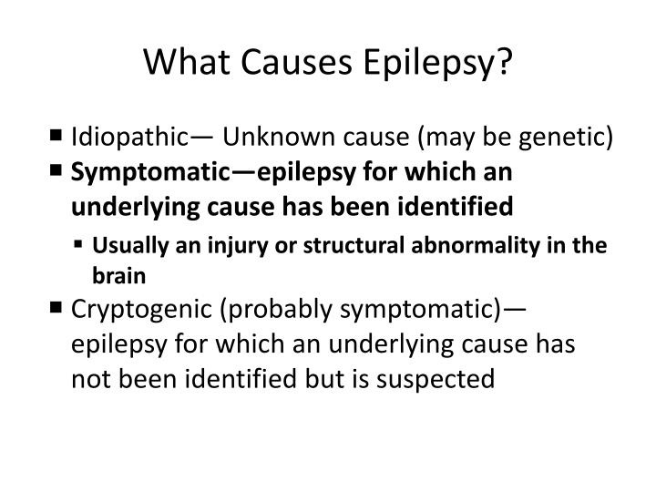 What Causes Epilepsy?
