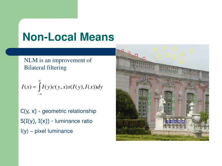 Non-Local Means