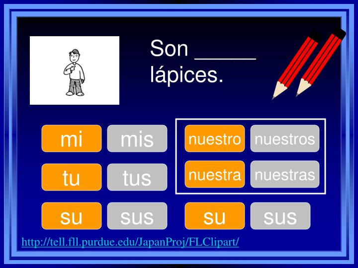 Son _____ lápices.