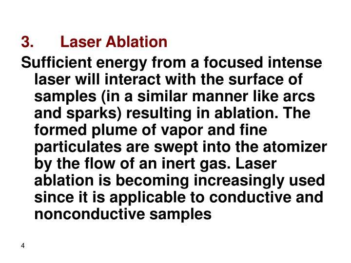 3.      Laser Ablation