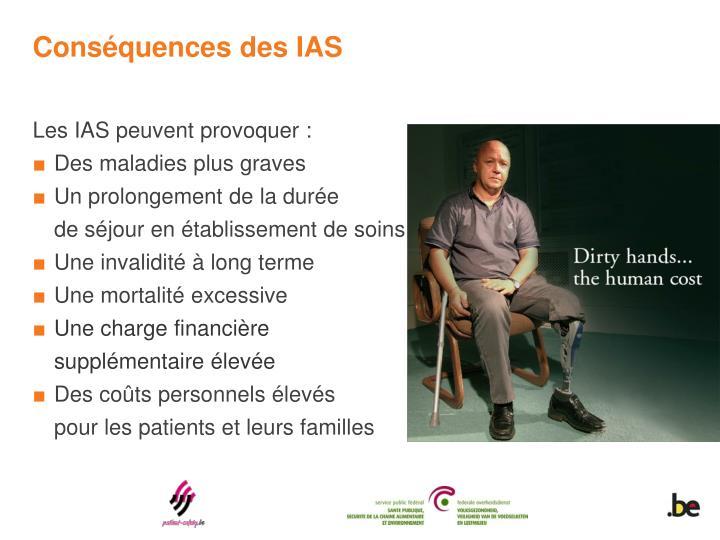 Conséquences des IAS