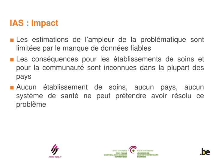 IAS : Impact