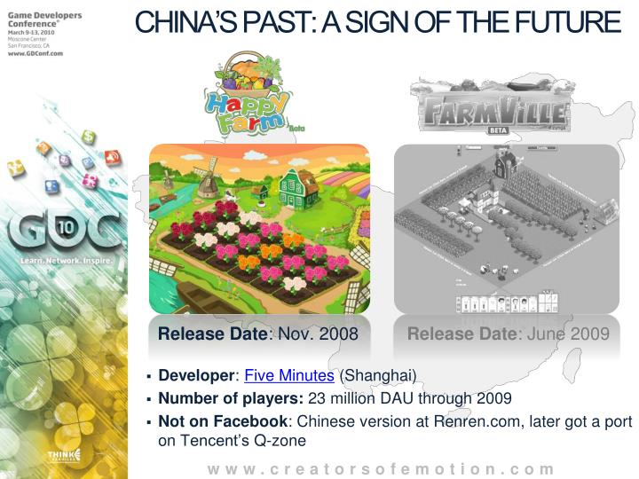 CHINA'S PAST: A SIGN OF THE FUTURE