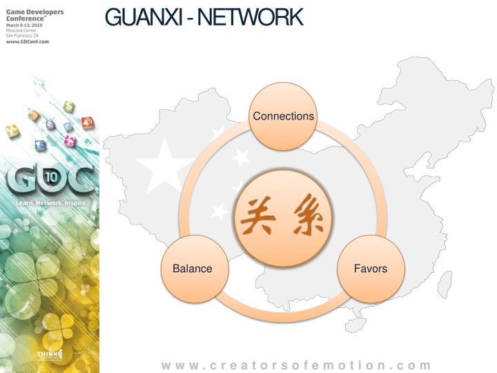 GUANXI - NETWORK