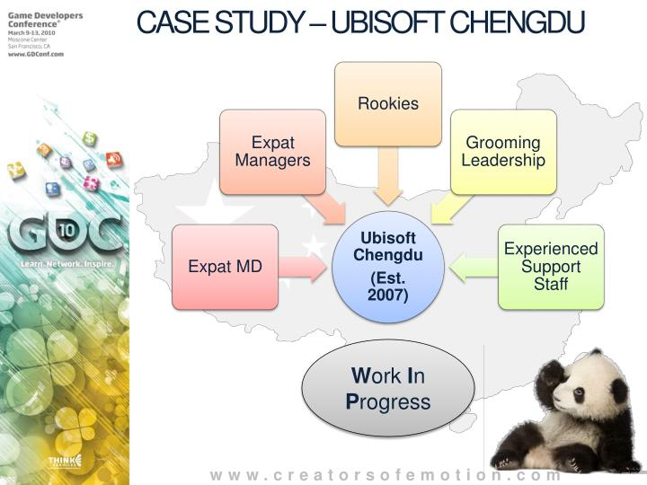 CASE STUDY – UBISOFT CHENGDU