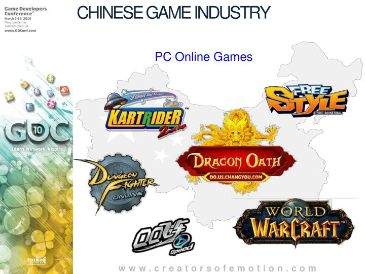 CHINESE GAME INDUSTRY