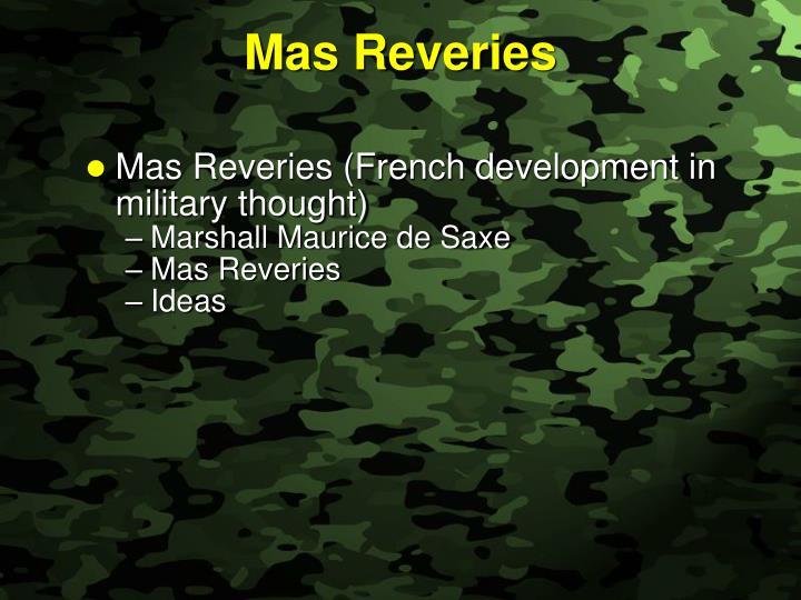 Mas Reveries
