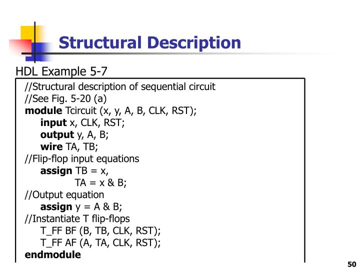 Structural Description