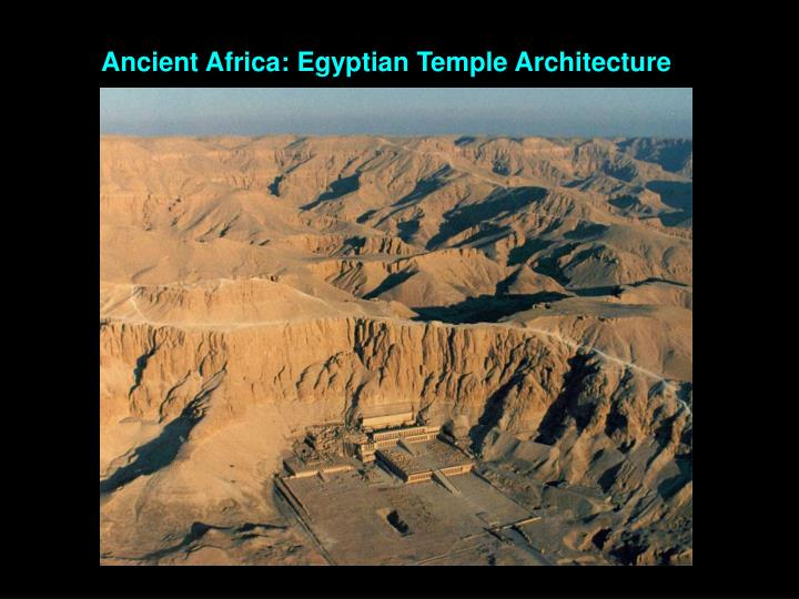 Ancient Africa: Egyptian Temple