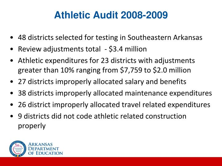 Athletic Audit