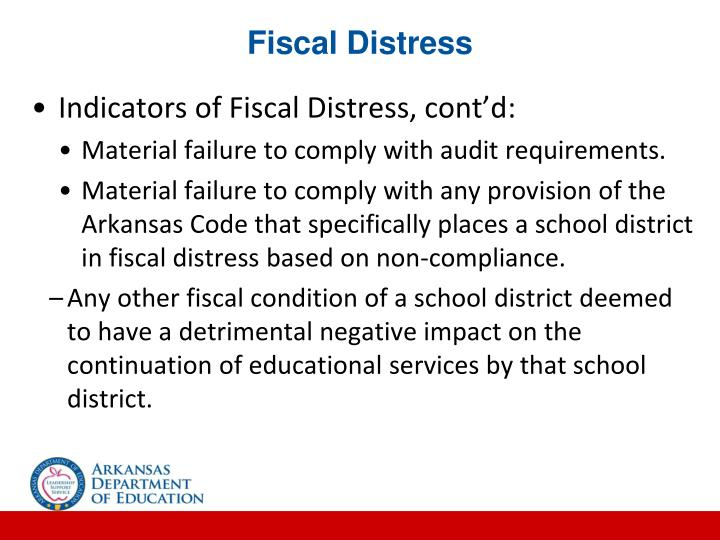 Fiscal Distress