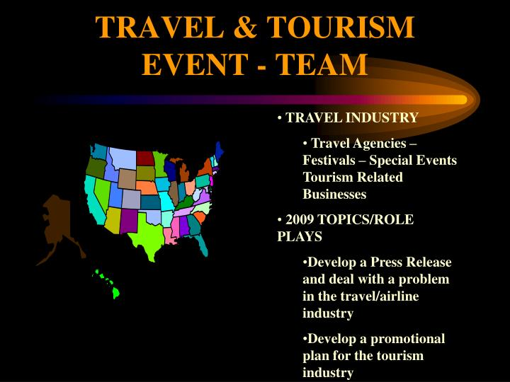 TRAVEL & TOURISM EVENT - TEAM