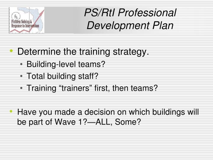 PS/RtI Professional