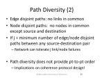 path diversity 2