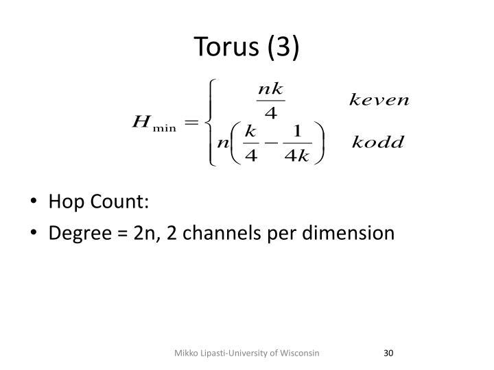 Torus (3)