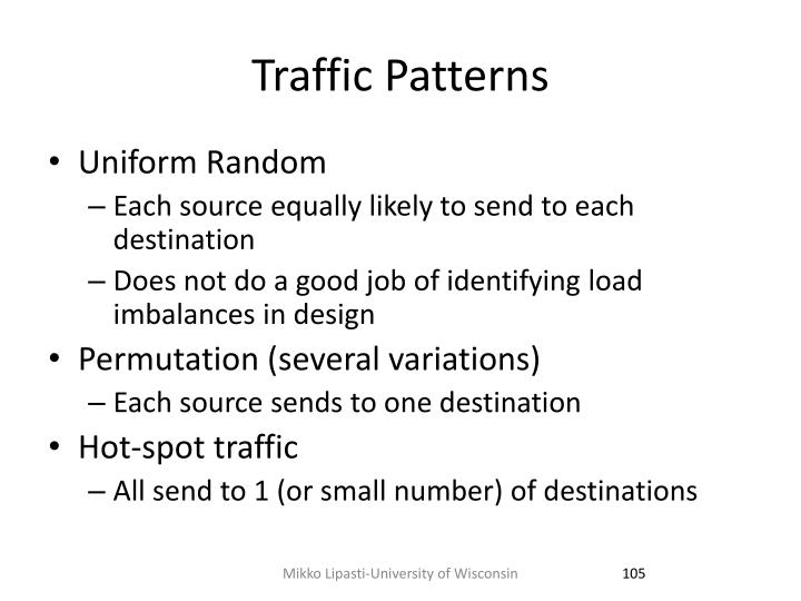 Traffic Patterns