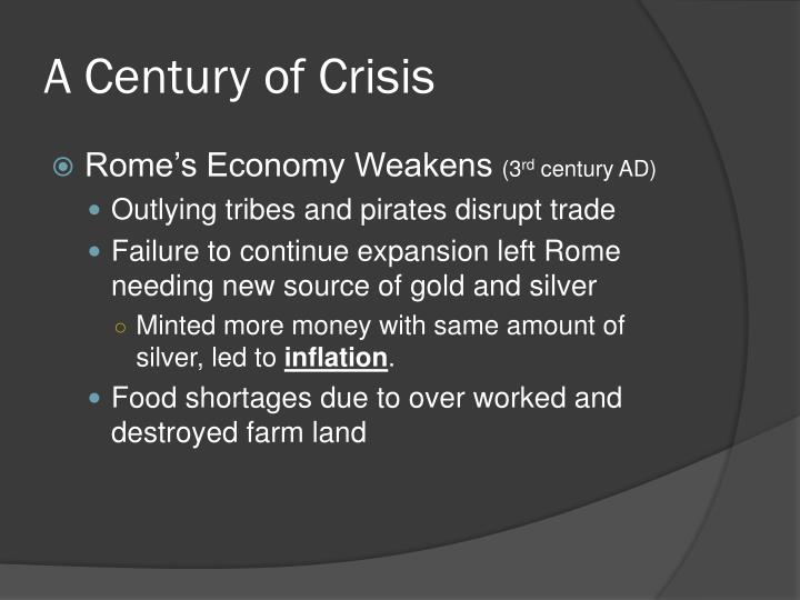 A century of crisis